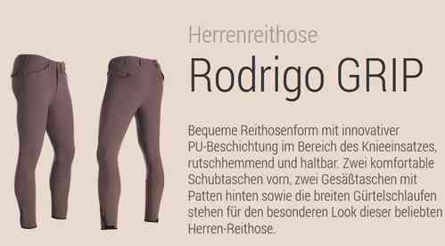 Mens Breeches Rodrigo GRIP by Pikeur