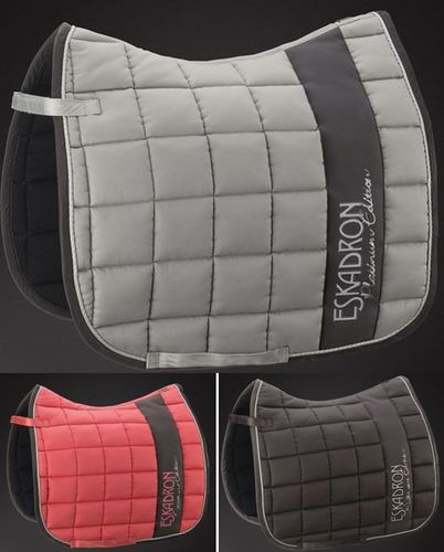 ESKADRON Saddle Pad Cotton BIG SQUARE, Platinum 2016