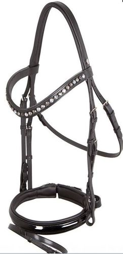 Otto Schumacher Bridle BLACK LINE Patina