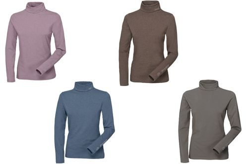 PIKEUR Ladies roll-neck shirt SINA