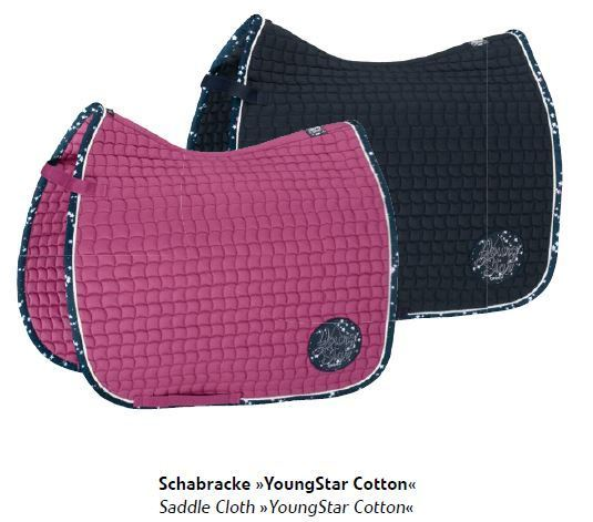 "Eskadron Schabracke Big Square /"" YOUNG STAR /"" pink"