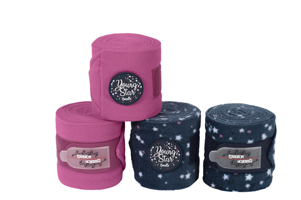 ESKADRON Fleece-Bandages YOUNG STAR