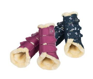 ESKADRON Tendon Boots FauxFur YOUNG STAR
