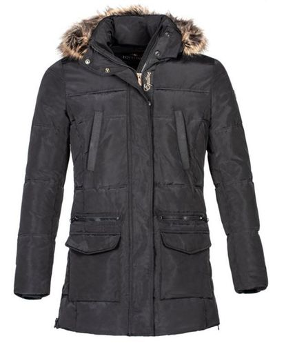EQUILINE Ladies Parka ZINNIA black
