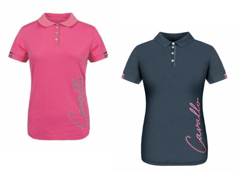 CAVALLO Damen Polo Shirt PEARL