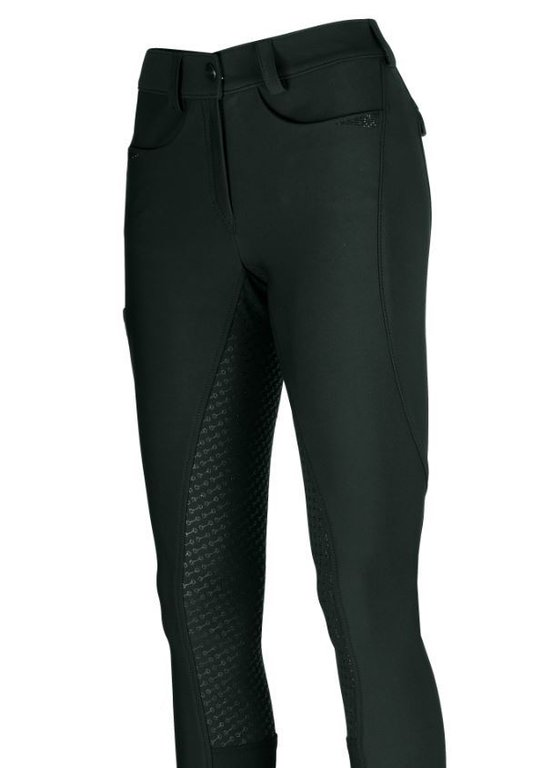 PIKEUR Damen Reithose LAURE GRIP darkgreen