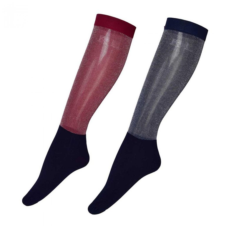 KINGSLAND Showsocks KL JOAN glitter, 2er Pack