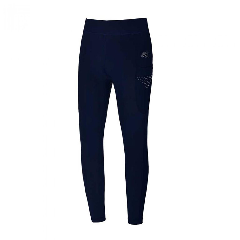 KINGSLAND Reitleggings Kinder KEMMIE FullGrip, navy